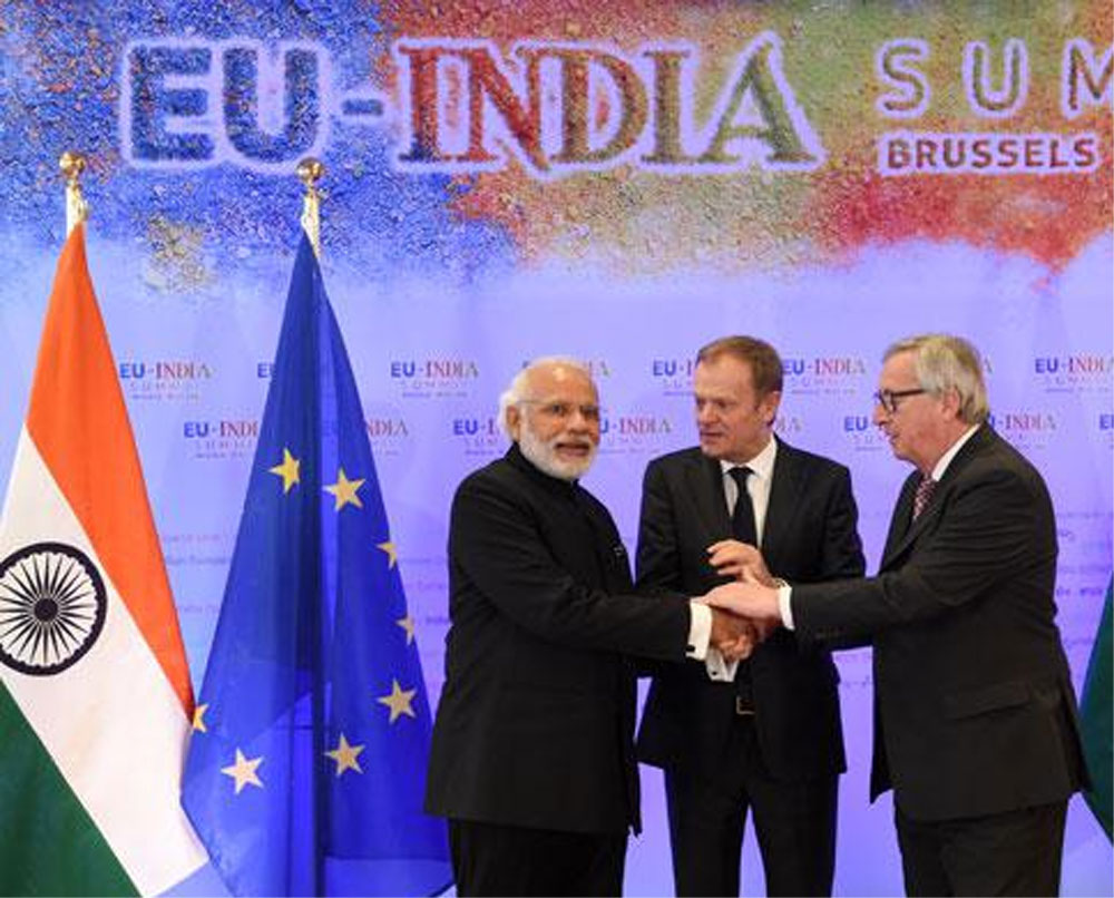 European Union shapes the visionary strategy towards India